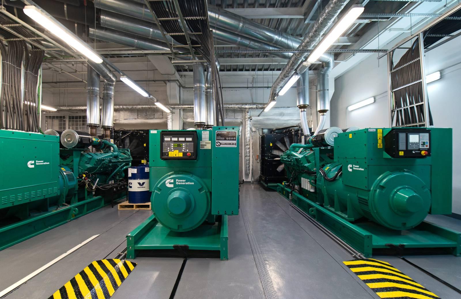 Приміщення дизель-генераторних установок. ДГУ Cummins C1675D5 1120 кВт